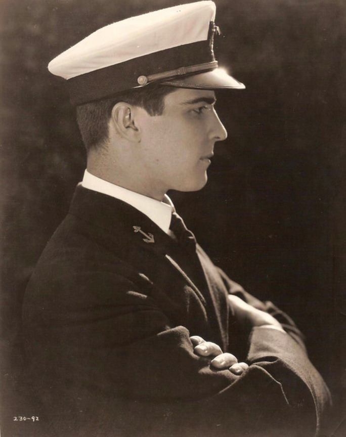 "Ramon Novarro in ""The Midshipman"""
