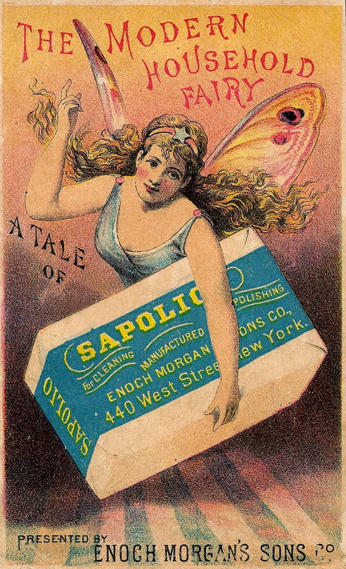 The modern household fairy… SapolioSoap