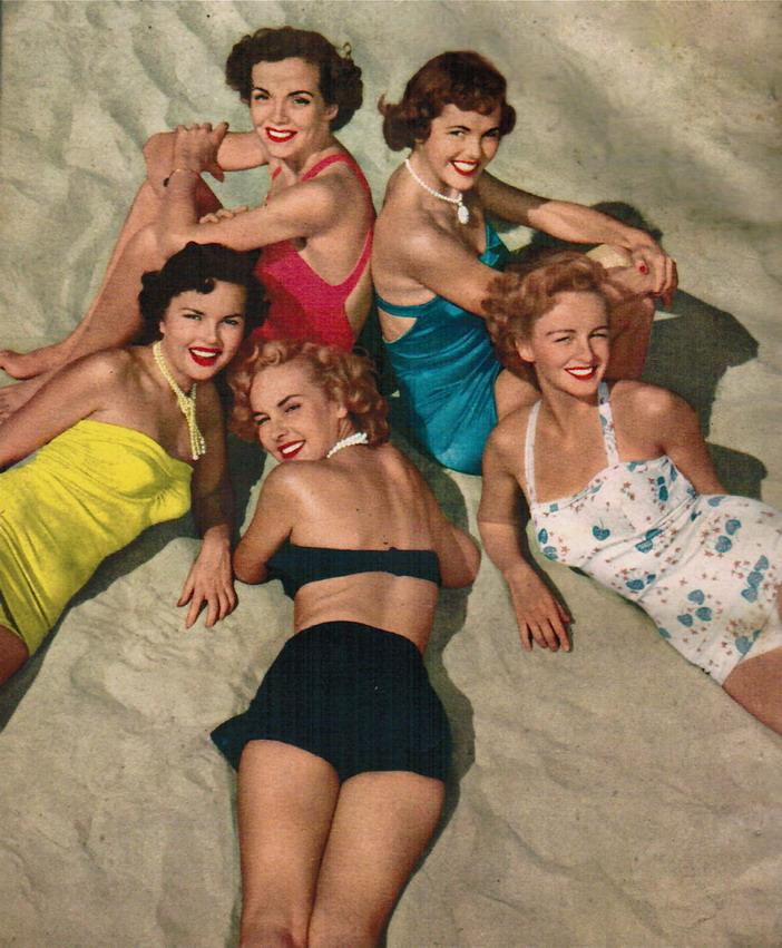 1940s Women's Swimsuits