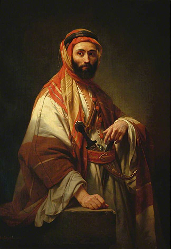 Syrian Chief by Nicaise de Keyser,1846