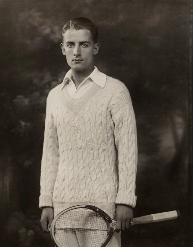 Tennis player Bunny Austin,1931