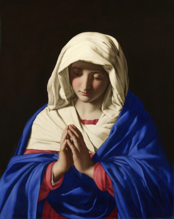 Full title: The Virgin in Prayer Artist: Sassoferrato Date made: 1640-50 Source: http://www.nationalgalleryimages.co.uk/ Contact: picture.library@nationalgallery.co.uk Copyright © The National Gallery, London