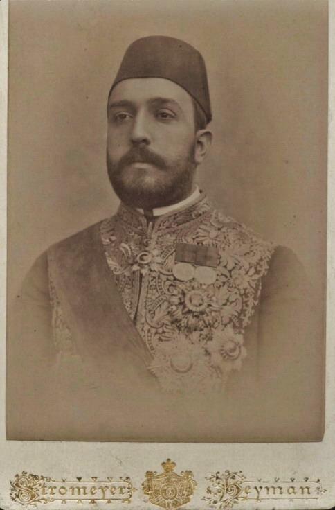 Turkish gentleman with abeard
