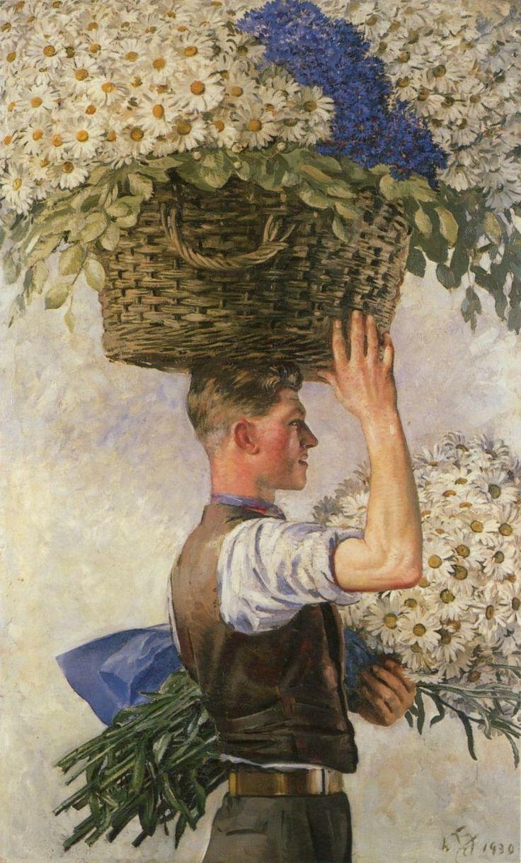 Painting by William Bruce Ellis Ranken,1930