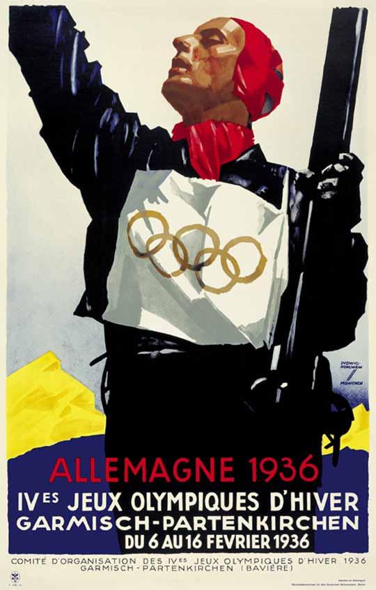 Winter Olympics, Germany,1936