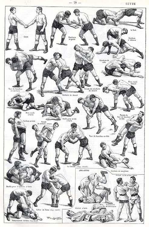 Wrestling positions