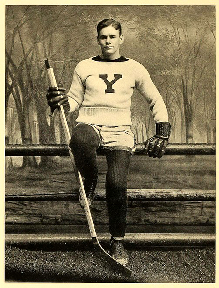 Yale Hockey Player, 1890s (?)