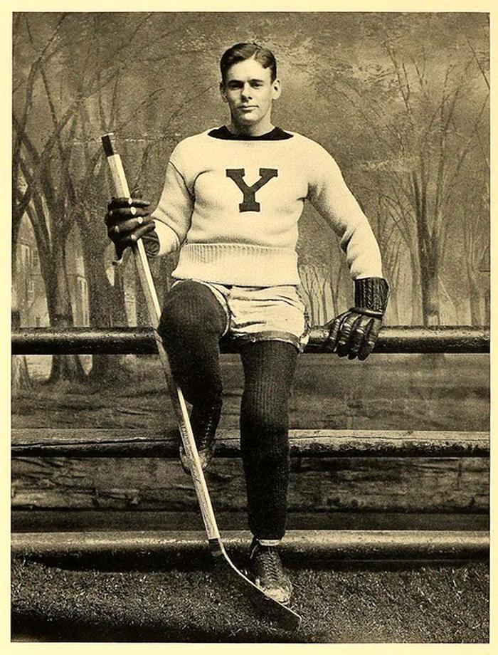 Yale Hockey Player, 1890s(?)
