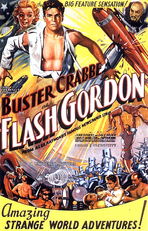 Buster Crabbe as FlashGordon
