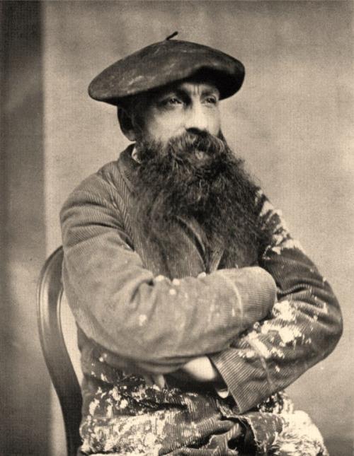 Sculpteur francais, Auguste Rodin,1880