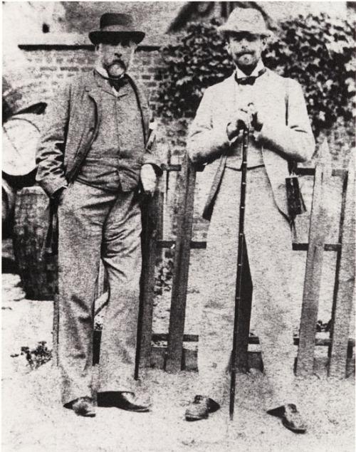 Edgar Degas and Walter Sickert,1885