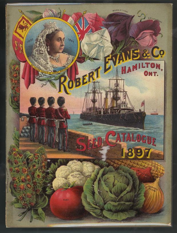 Canadian Seed Catalog,1897