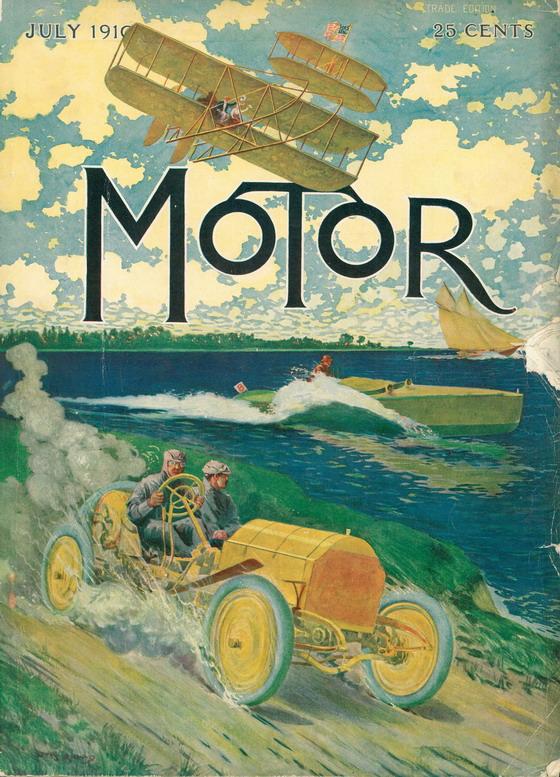 Motor magazine, 1910