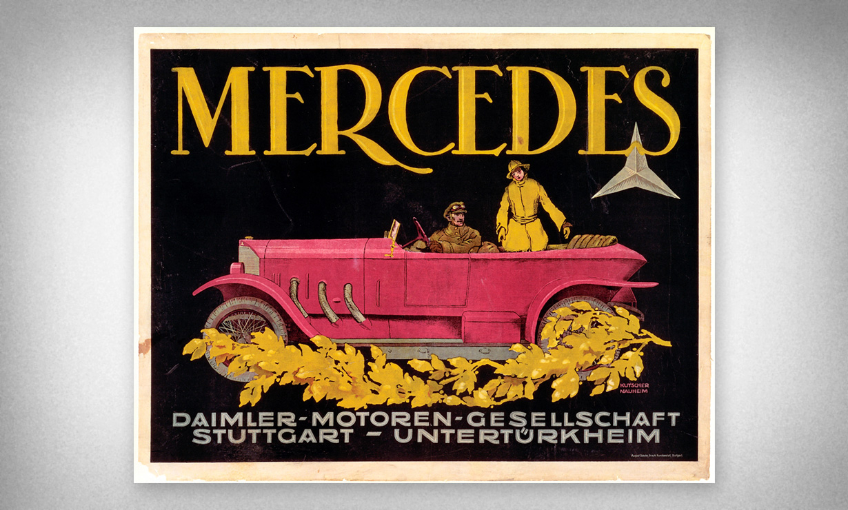 Mercedes, late 1920s