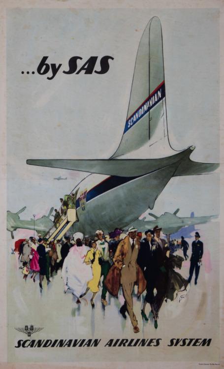 Scandinavia Airlines System, circa1960