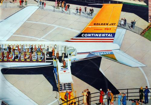 airplane 707 continental