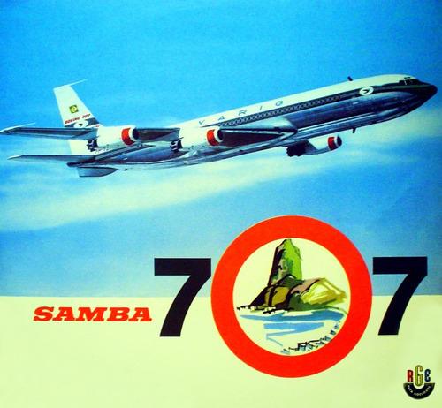 airplane varig 707