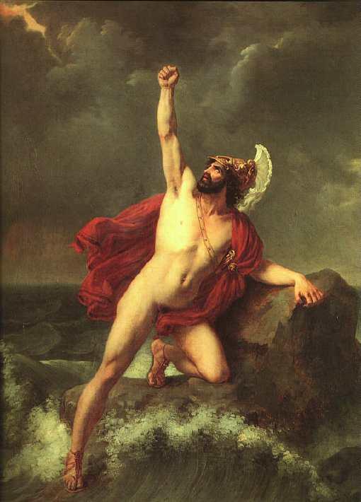 Ajax by Henri August Calixte Cesar Serrur,1820