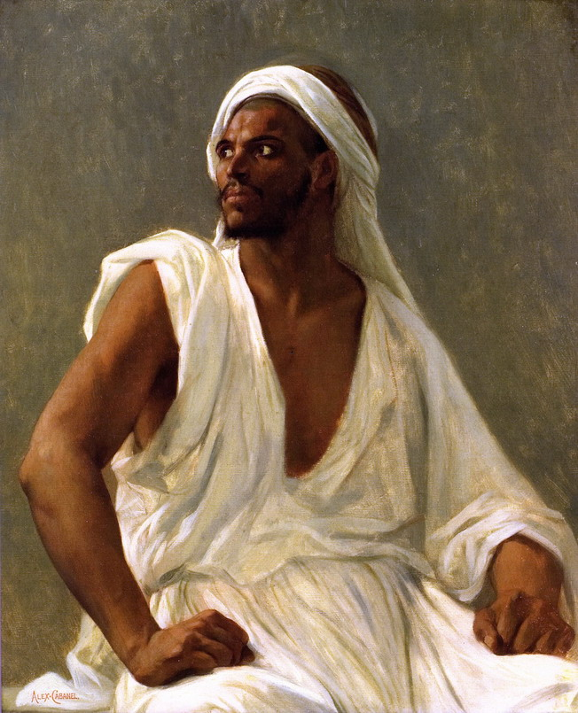 Alexandre Cabanel, Portrait of an Arab