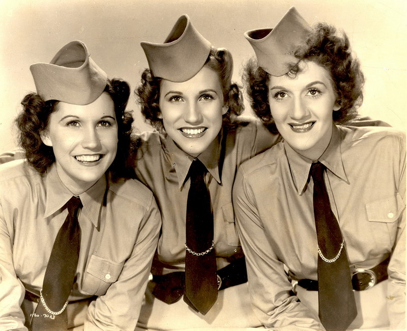 The Andrews Sisters, 1940s