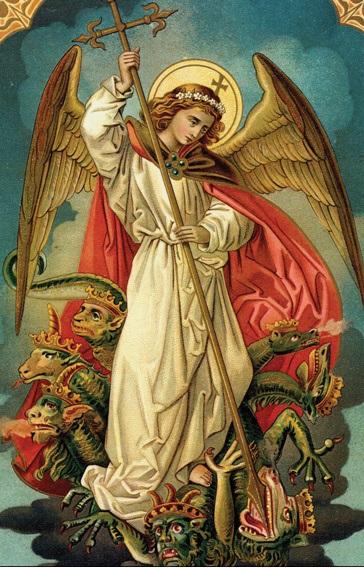 Angel killing evil