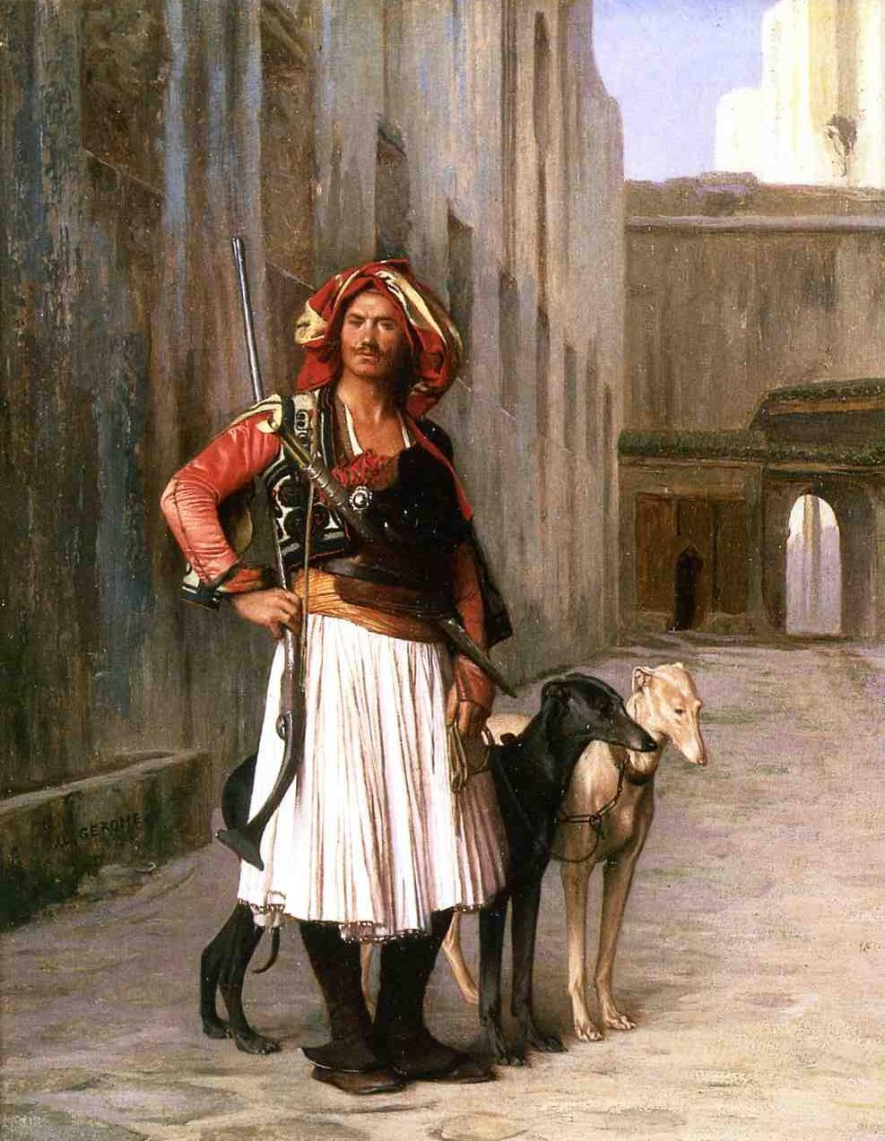 Arnaut from Cairo (1867), Jean-LéonGérôme