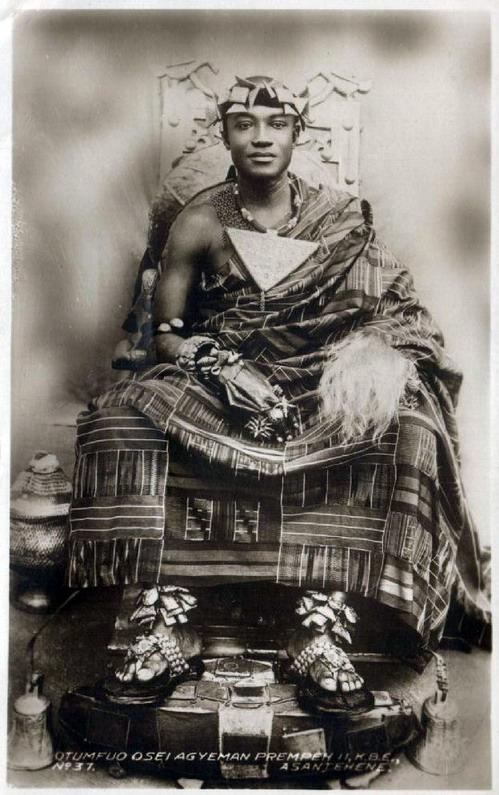 An Ashanti King,Ghana