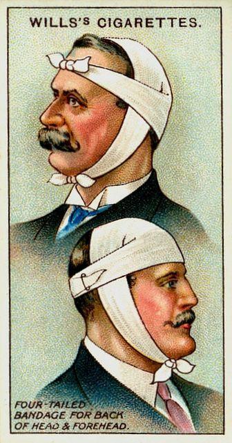 bandage stache