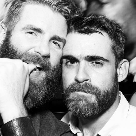 Bearded Men Together