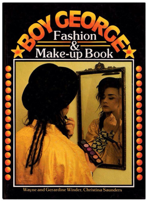 Boy George Fashion & Make-up Book, 1980s