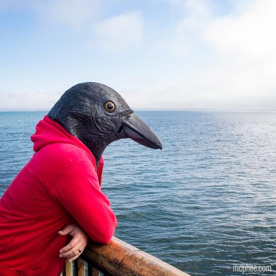 crow head mask 1281