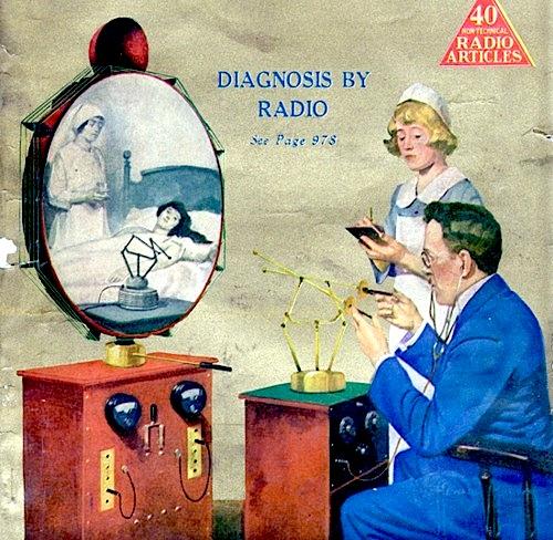 Diagnosis by radio, circa1930