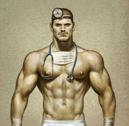 Doctor by Tom of Finland