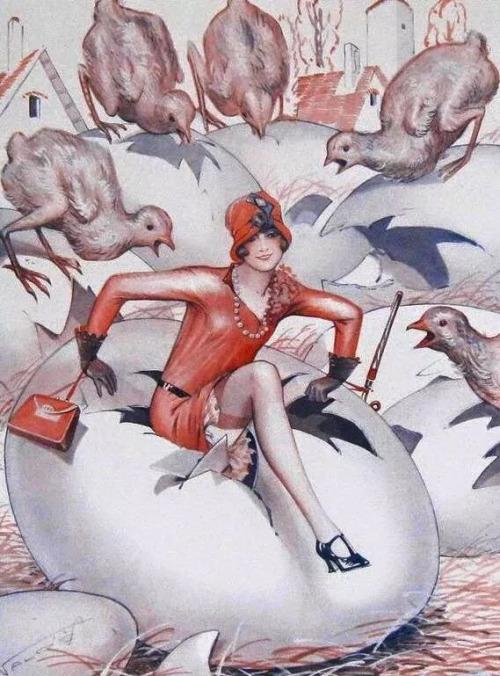 Pacques, La Vie Parisienne,1920s