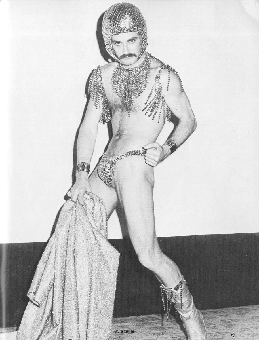 Glitter stripper, 1970s