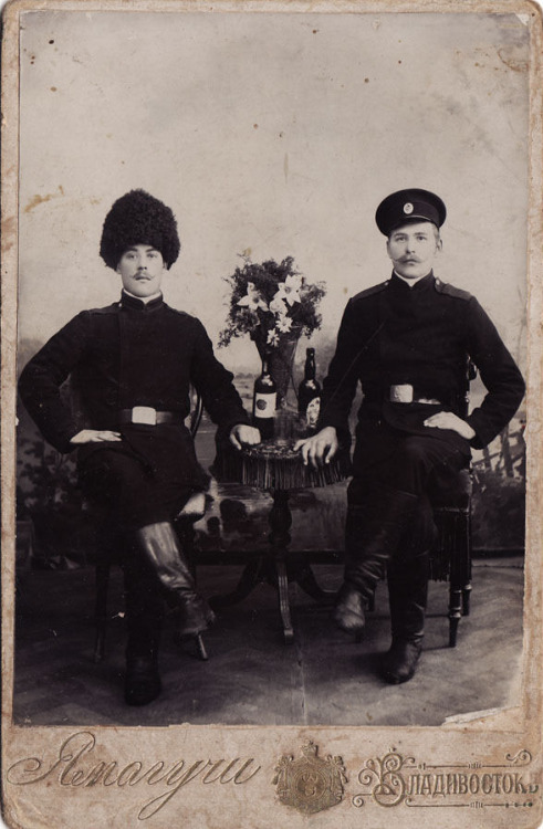 Imperial Russian soldiers, Vladivostok, 1910s