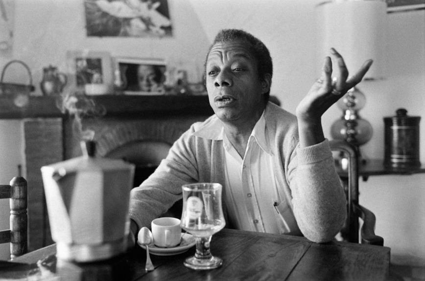 American writer James Baldwin, who wasgay