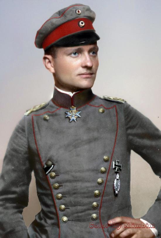 Manfred von Richthofen, ,1914-1918