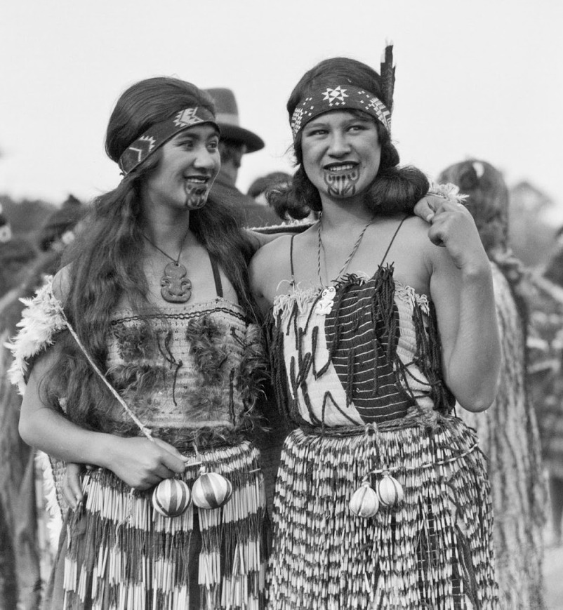 Maori women, New Zealand, early 20thcentury