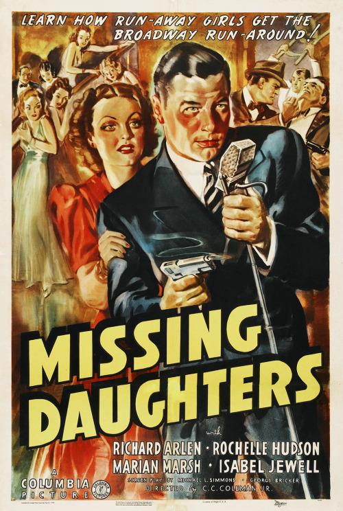 Missing Daughters, 1939