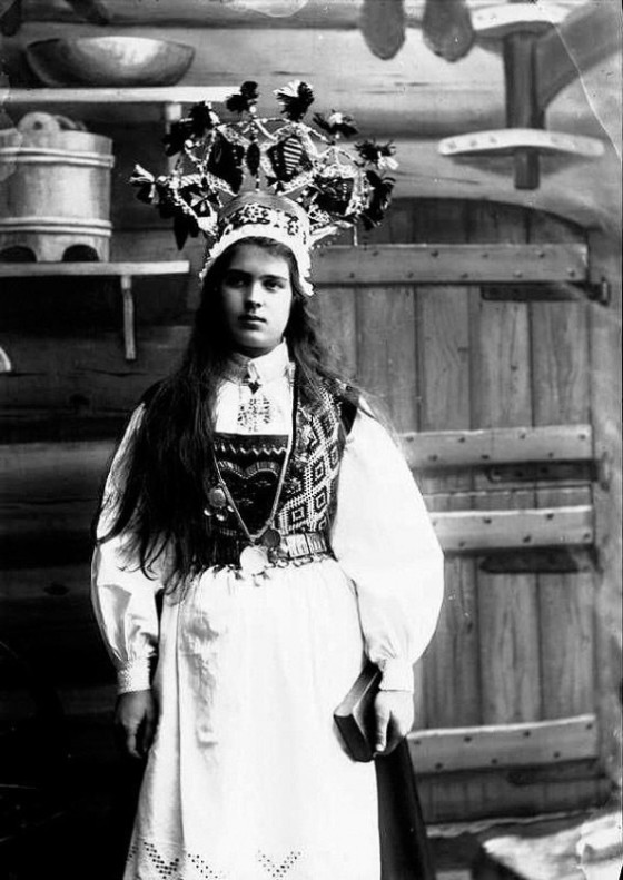norwegian bridal crowns 1281