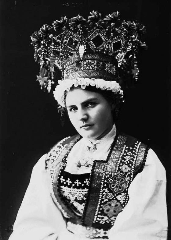 norwegian bridal crowns 1282