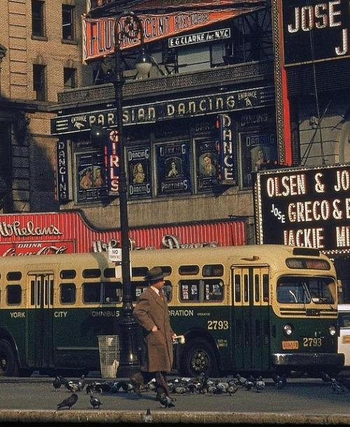 New York City Street Scene, 1952, by WalkerEvans