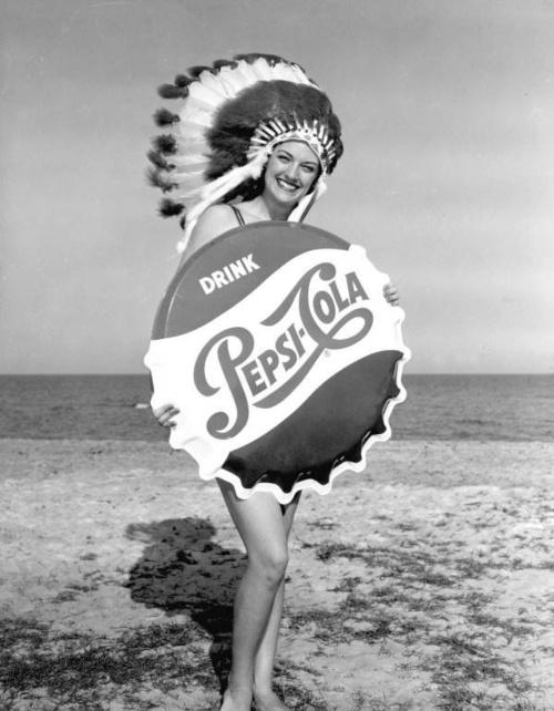 Vintage Pepsi ad