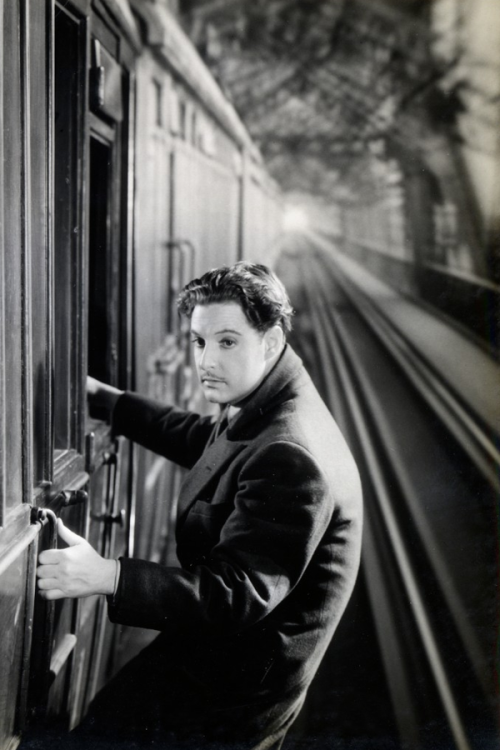 """Robert Donat in """"The 39 Steps"""",1935"""