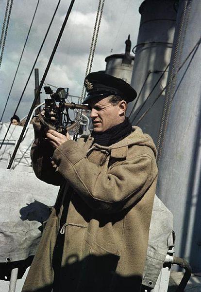Royal Naval Officer, 1942,UK