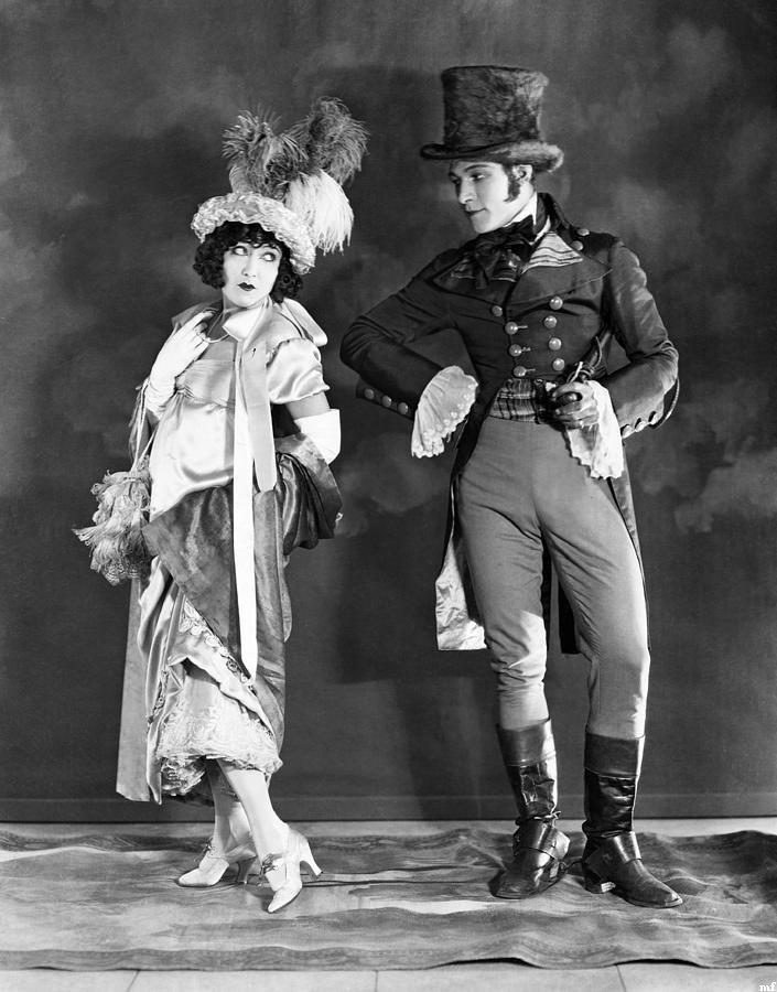 Gloria Swanson and RudolphValentino