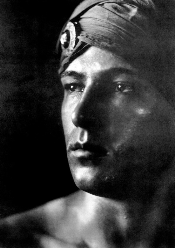 Rudolph Valentino by Ashley-Shaw, 1922