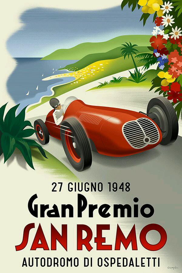 Gran Premio, San Remo,1948