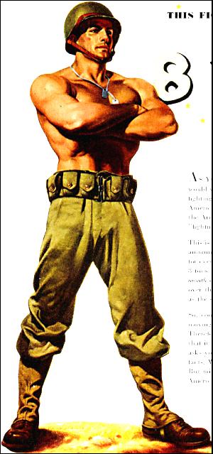 shirtless soldier 24